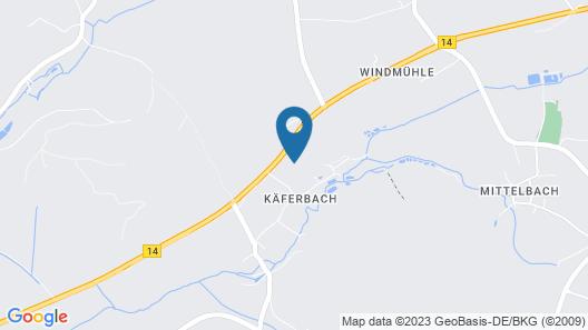 Haus Hutzelbuck Map