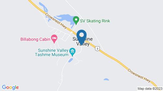 SUNSHINE VALLEY RV RESORT & CABINS Map