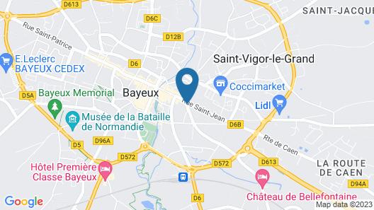 Appartement Lauthentique Map
