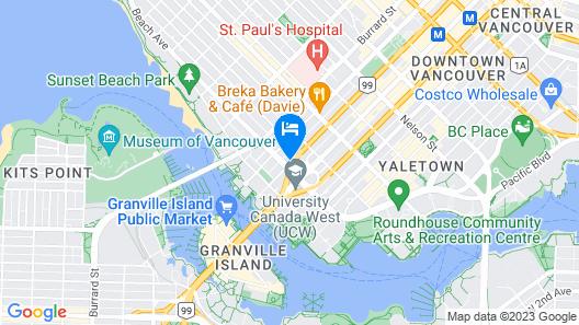 Executive Hotel Vintage Park Map