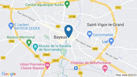 Villa Lara Hôtel Map