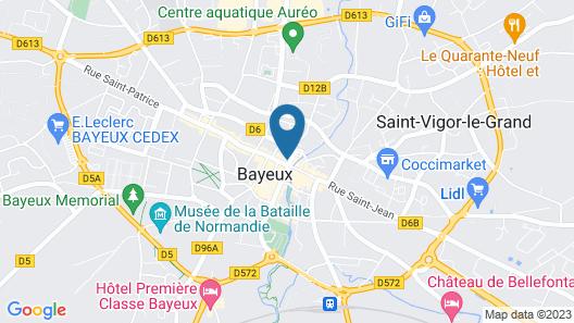 Appartement du Cadran Solaire Map