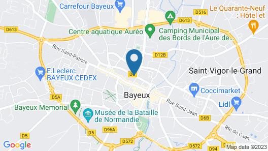 Grand Hôtel du Luxembourg Map