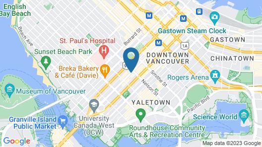 Samesun Vancouver Map