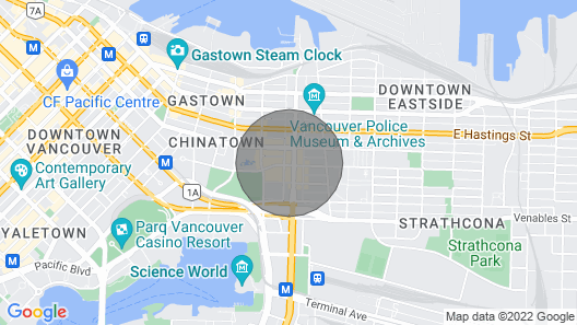 Ultimate Urban Experience in Downtown Vancouver, BC Map