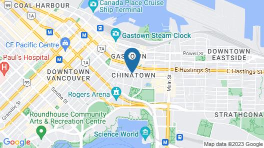 Skwachàys Lodge Map