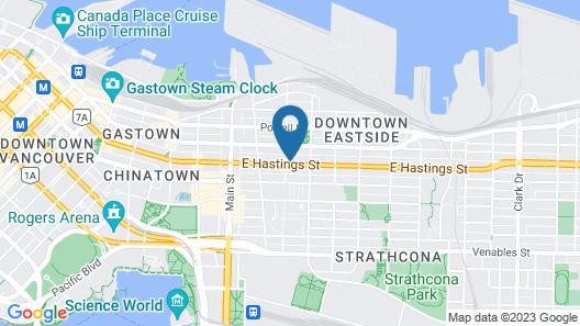 Budget Inn Patricia Hotel Map
