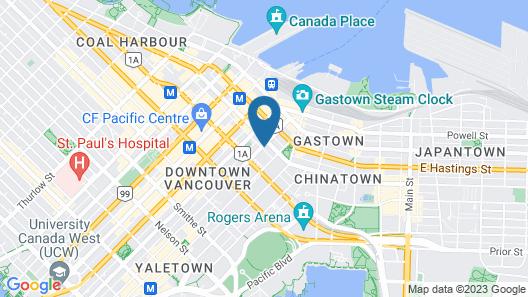 Victorian Hotel Map