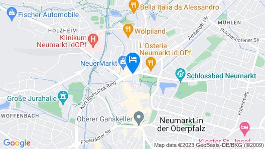 Park Inn by Radisson Neumarkt Map