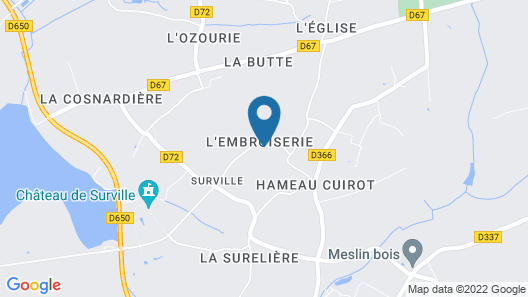 Gite La Haye-du-puits, 2 Bedrooms, 3 Persons Map