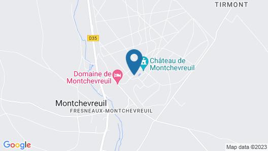 Domaine de Montchevreuil Map