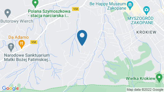 Apartamenty Sun&Snow Lipki Park Zakopane Map