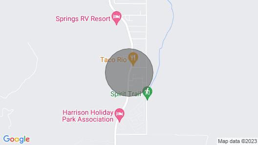 Unit #1. Harrison Chalet Suites at Harrison Hot Springs Map