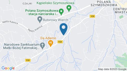Rezydencja Zakopiańska Map