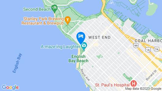 Sylvia Hotel Map