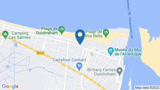 Hôtel & Spa Riva Bella by Thalazur Map