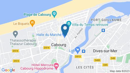 La Champagne Ardenne Hôtel Map