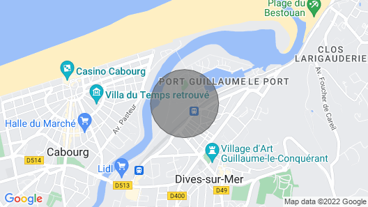 2 Bedroom Accommodation in Dives sur Mer Map