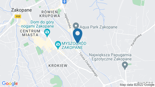 Radisson Blu Hotel & Residences, Zakopane Map