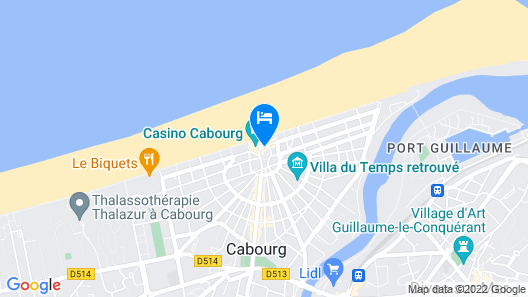 Le Grand Hotel Cabourg - MGallery by Sofitel Map