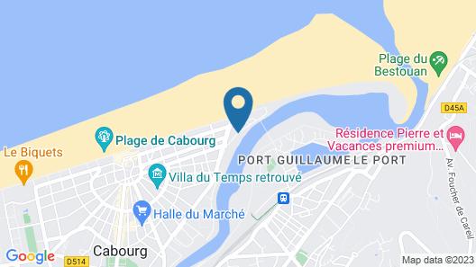 Résidence Lagrange Vacances Cabourg Map