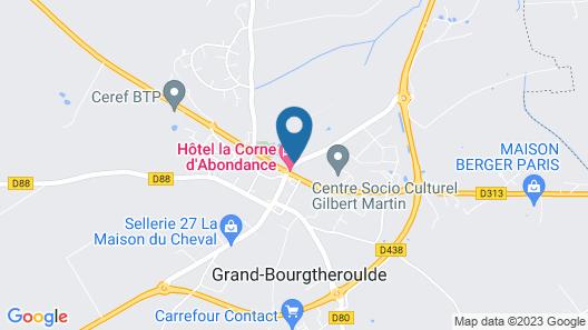 Logis Hôtel La Corne d'Abondance Map