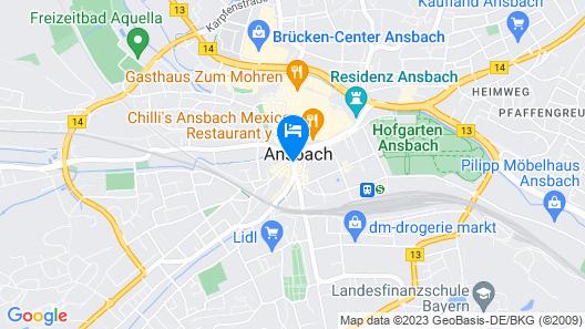 Hotel Residenz Map