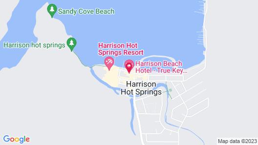 Harrison Beach Hotel Map