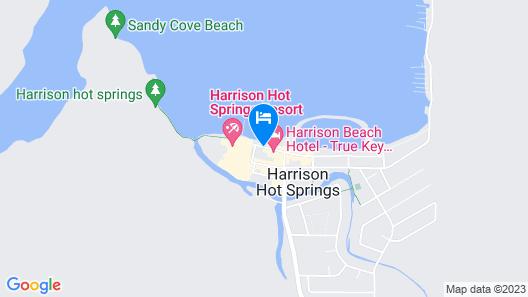 Harrison Spa Motel Map