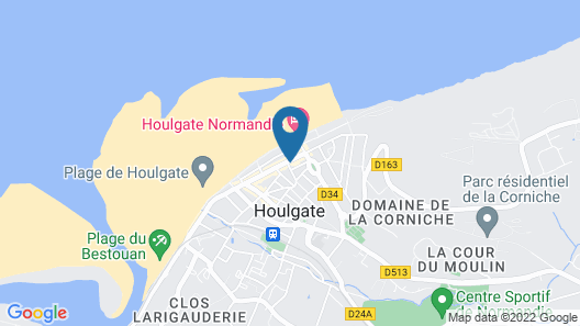 Hôtel Villa les Bains Map