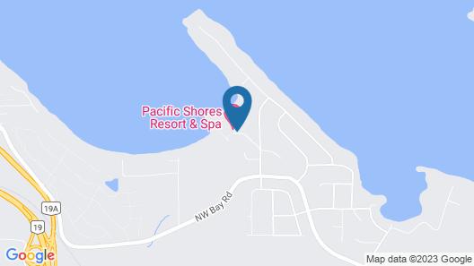 Pacific Shores Resort & Spa Map