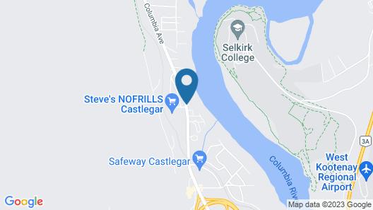 Twin Rivers Motel & RV Park Map