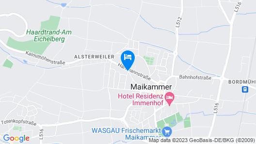 Gästehaus Spatzennest Map