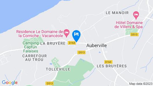 Vacancéole – Le Domaine de la Corniche – Deauville Sud Map