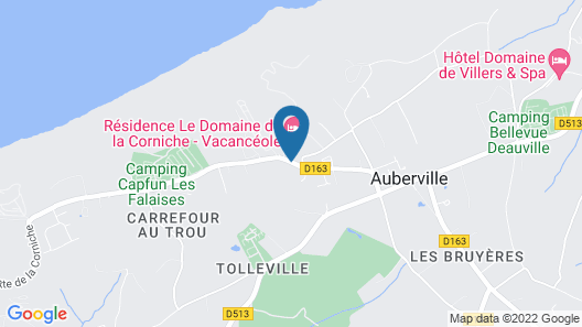 Neat Apartment With Microwave, Between Deauville and Cabourg Map