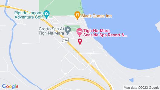 Sunrise Ridge Waterfront Resort Map