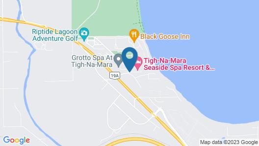 Tigh-Na-Mara Seaside Spa Resort Map
