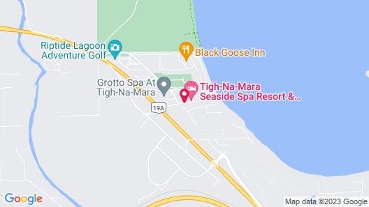 Ocean Sands Resort Map