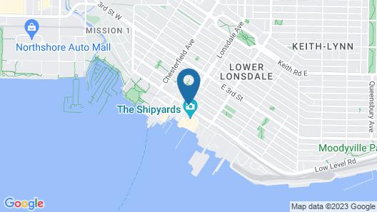 Pinnacle Hotel at the Pier Map