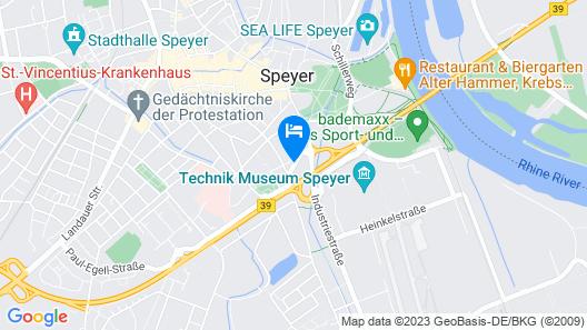 ibis Styles Speyer Map