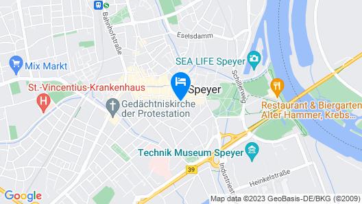 Hotel Trutzpfaff Map
