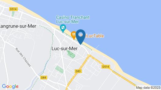 Le Beau Rivage Map