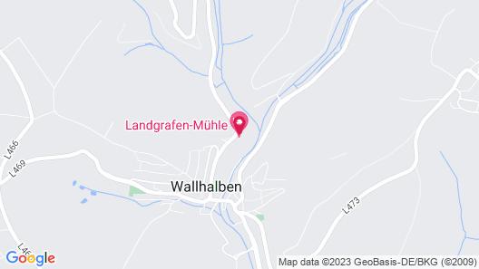Hotel Restaurant Landgrafen-Mühle Map