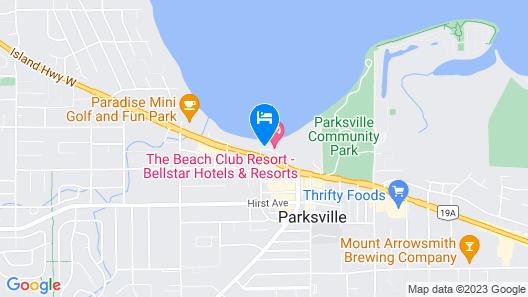 THE Beach Club Resort Map