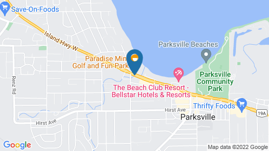 Coast Parksville Hotel Map
