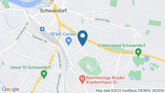 Pension Garni Brunnenhof Map