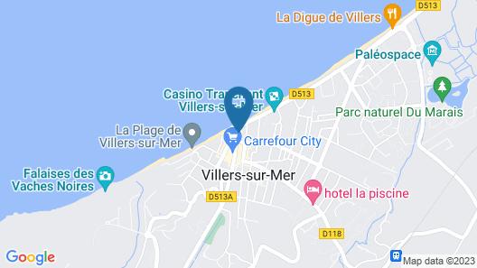 Hôtel Outre-Mer Map