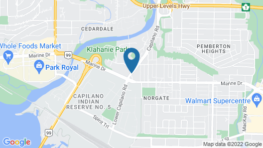 SureStay Hotel by Best Western North Vancouver Capilano Map