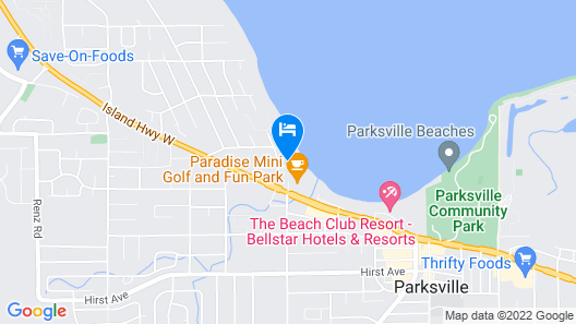 Bayside Resort, Ascend Hotel Collection Map