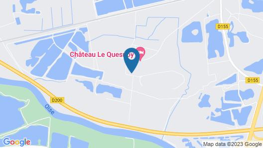 Chateau le Quesnoy Map
